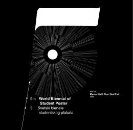 5. Svetski bijenale studen tsko g plakata