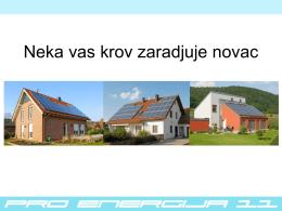 Prezentacija Solarna elektrana 2013 Srbija - suncana