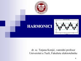 kvalitet električne energije - Fakultet elektrotehnike