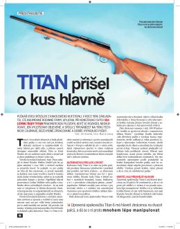 TiTan přišel o kus hlavně
