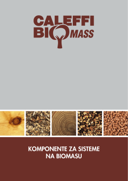 Caleffi komponente za sisteme na biomasu