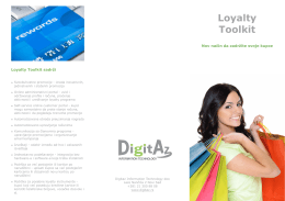 Loyalty Brochure Digitaz