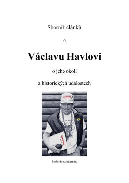 Václav Havel - Stránka Co nemáte vědět