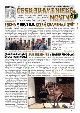 2. 2014 - Česká Kamenice