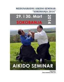 "međunarodni aikido seminar ""sokobanja 2014"""