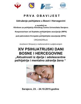 xiv psihijatrijski dani bosne i hercegovine
