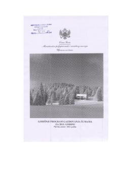 2013. - Uprava za šume