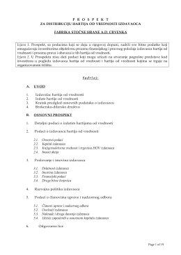 FSH Crvenka - Tandem Financial