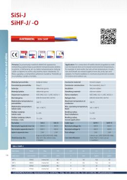 SiSi-J SiHF-J/ -O - Elektrometal Plus