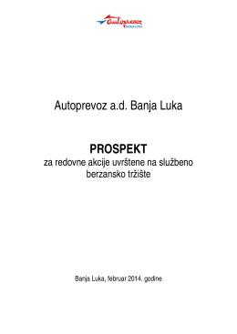 Prospekt APBL.pdf - Autoprevoz, Banja Luka