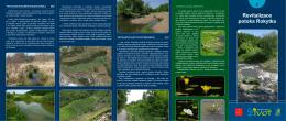 Revitalizace potoka Rokytka