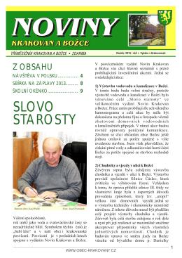 číslo 2013_02 (pdf) - krakovanský zpravodaj