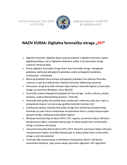Digitalna forenzika
