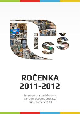 Rocenka 2011/2012 - SŠTE Brno, Olomoucká 61