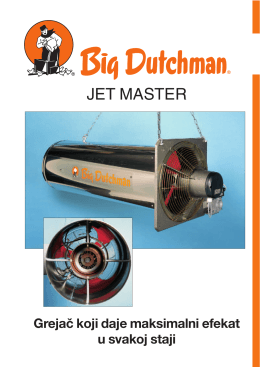 JET MASTER - Big Dutchman