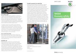 ŠKODA Economy výfuky - Škoda Economy Servis