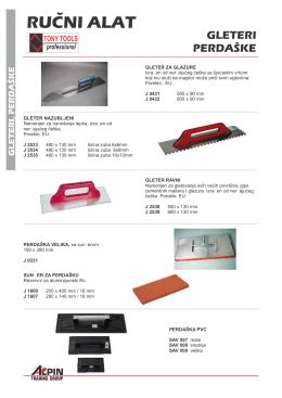 Tonny Tools - Gradjevinski alati i oprema 02