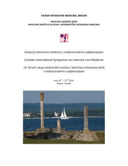 Simpozij intenzivne medicine s međunarodnim sudjelovanjem