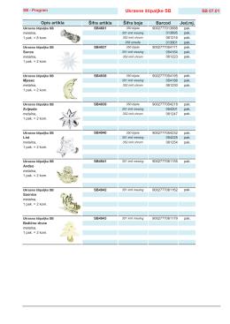 Program ukrasnih dodataka za zavjese & pribor
