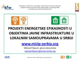 Milorad Filipović, vodeći ekonomista na KfW
