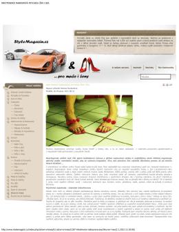 StyleMagazin - Medipunkt.cz