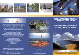 Brošura EU projekta Podrška sprovođenju Nacionalne strategije