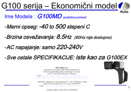 """Low cost model G100MD sa autofokusom"" Fajl je u"