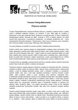Celá přednáška pana Malinowski v PDF