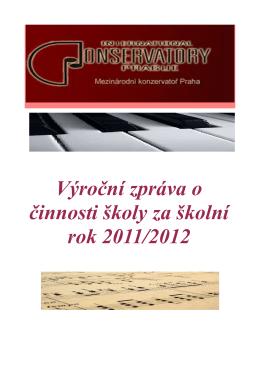 2012 - Mezinárodní konzervatoř Praha