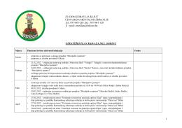 Strateški plan rada - CMZ ZU Ključ