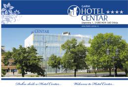 Services - Hotel Centar, Novi Sad
