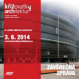 Závěrečná zpráva - Křižovatky architektury