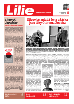 Slivovice, mladá žena a láska jsou léky Olbrama Zoubka 6