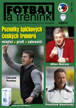 Časopis Fotbal a trénink - č. 3