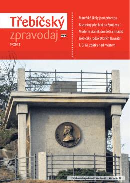 Třebíčský zpravodaj č. 9/2012
