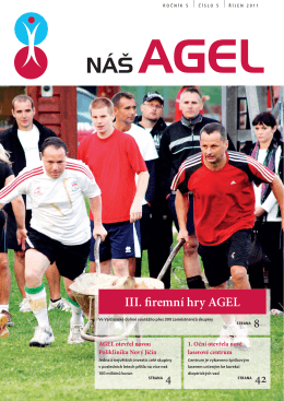 III. firemní hry AGEL