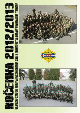 Ročenka 2012/2013 - Vojenská střední škola a Vyšší odborná škola
