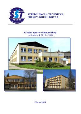 Jaro 2014 - Střední škola technická Přerov, Kouřílkova 8