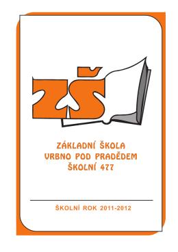 Zpravodaj 2011/12 - ZŠ Vrbno pod Pradědem