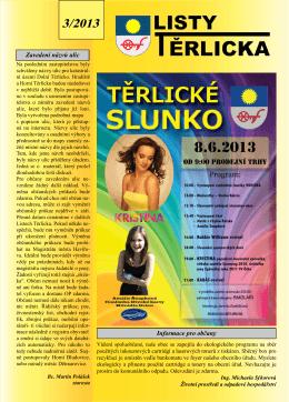 Listy Těrlicka 3/2013