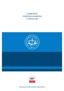 Pregled naučno-istraživačkih projekata na fakultetima u sastavu