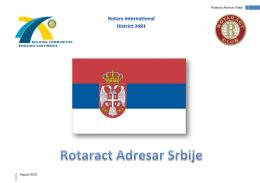 Rotaract Adresar Srbije