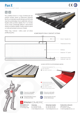 Pan-X PDF 0.6 mb - Profilisani limovi