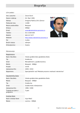 Biografija - procenitelji.org.rs