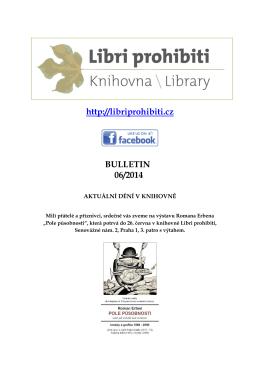 Bulletin 2014/06 - Libri prohibiti