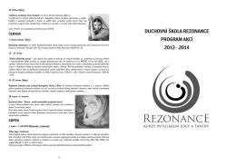 Akce Rezonance 2014