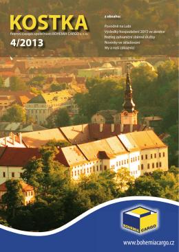kostka 4/2013 - Bohemia Cargo