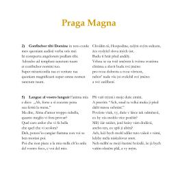 Praga Magna - Cappella Mariana