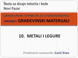 10_metali i legure