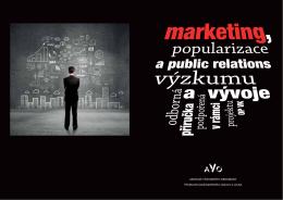 Příručka Marketing, popularizace a PR výzkumu a vývoje